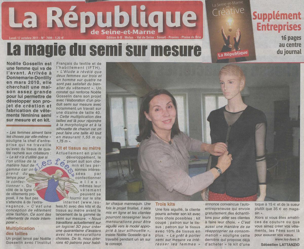 redactionnel La République octobre 2010
